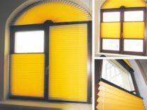Нестандартные шторы плиссе - фото 3