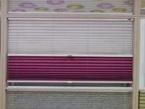 Шторы плиссе двойные - фото 2