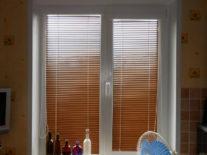 Деревянные жалюзи на окна - фото 2