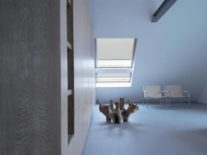 Рулонные шторы на мансардные окна - фото 4
