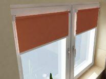 Рулонные шторы на пластиковые окна - фото 5