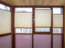Жалюзи плиссе на окна - фото 4