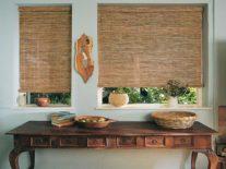 Деревянные жалюзи из бамбука - фото 1
