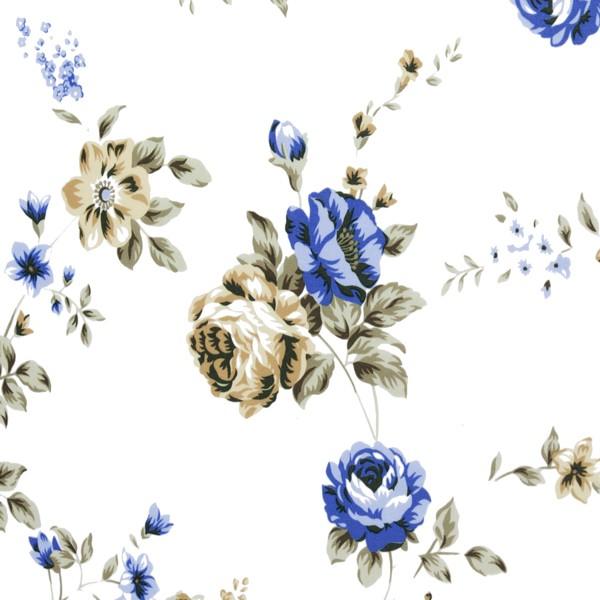 Ткань для рулонной шторы без сверления Болгарская Роза 01
