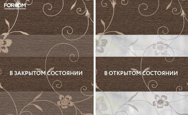 Ткань Elegant Коричневый