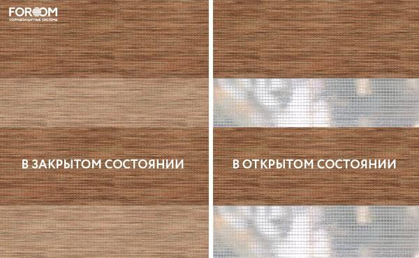 Ткань Savana Коричневый